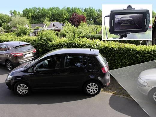 Vezeték nélküli tolatássegítő kamera kijelzővel, felvétel funkció, infra, ProUser APR043DC