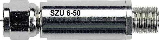 Antenna túlfeszültségvédő F csatlakozós koax antenna kábelekhez max.4500A-ig Renkforce SZU 6-50