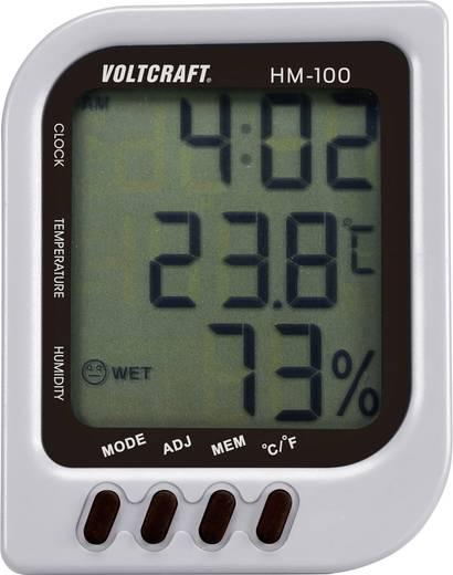 Légnedvesség mérő, levegő hőmérséklet és páratartalommérő műszer VOLTCRAFT HM-100