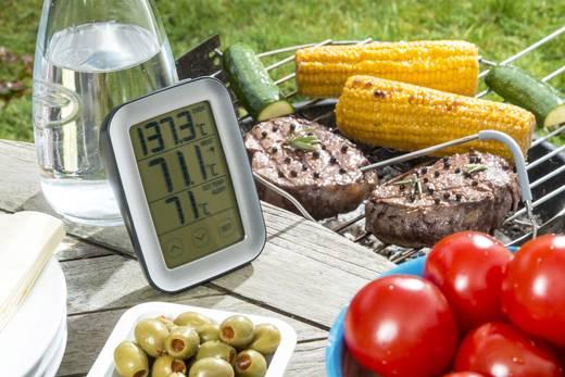 Sütő és grill hőmérő, érintőképernyővel, Sunartis