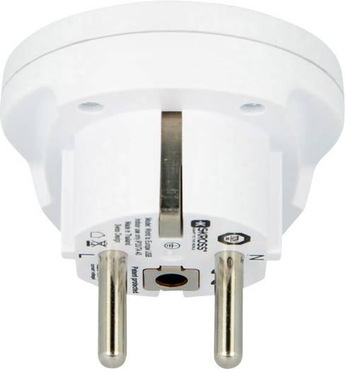 Univerzális konnektor átalakító úti adapter, USB töltővel, Skross 1.500260