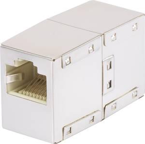 Hálózati kábel toldó adapter CAT 5e [1x RJ45 alj - 1x RJ45 alj] fehér renkforce Renkforce