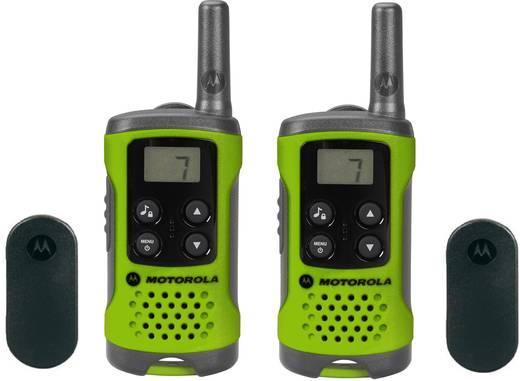 Motorola PMR rádió, zöld, 2 db, TLKR T41 P14MAA03A1BP PMR T41