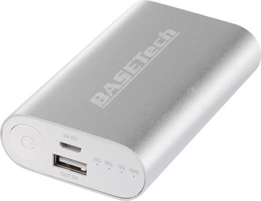 Powerbank, tartalék akku, mobil akku, Basetech BTP-2, 5200 mAh