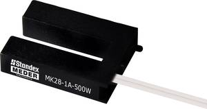 Reed kontaktus 1 váltó 175 V/DC/AC 1 A 10 W StandexMeder Electronics MK28-1C-500W StandexMeder Electronics