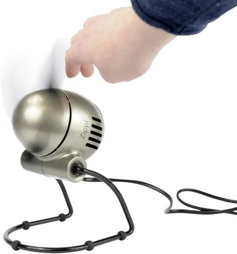 Asztali ventilátor 20 W, Ø 18,8 cm, ezüst, Vornado Zippi Platinum