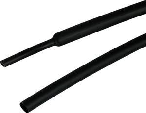 TE Connectivity ATUM-9/3-0 Zsugorcső ragasztóval Fekete 9 mm Zsugorodási arány:3:1 1.2 m TE Connectivity