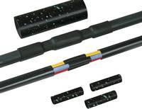 Hőre zsugorodó cső készlet csavaros összekötők nélkül Kábel átmérő tartomány: 12 - 48 mm HellermannTyton 380-04005 LVK-5 HellermannTyton