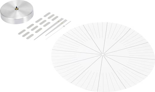 Analóg falióra 350 mm, ezüst, renkforce HD-W152 SI