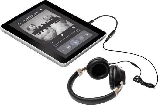 Jack audio átalakító, 1 x Jack dugó 3,5 mm-es - 1x Jack alj 2,5 mm-es fekete, SpeaKa Professional