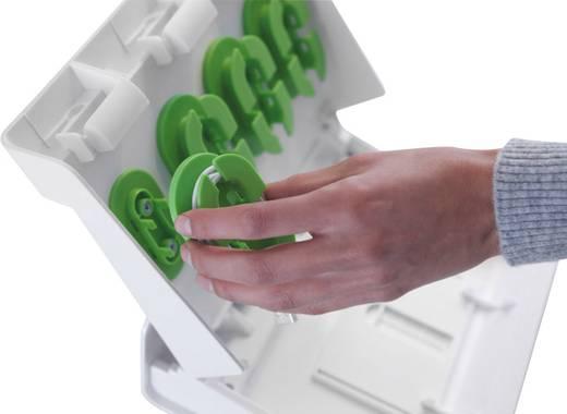 Dokkolós töltő tablethez és okostelefonhoz, fehér, 4 x USB, 2A, XL
