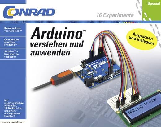 Tanulókészlet az Arduino™ megértéséhez és alkalmazáshoz, 14 éves kortól, Conrad 10174