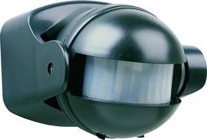PIR szenzor, fali mozgásérzékelő, 180 °, IP44, fekete, Smartwares 10.017.11 Smartwares