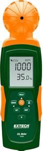 USB-s széndioxid mérő és adatgyűjtő, hőmérséklet mérő funkcióval 0 - 9999 ppm, Extech CO240 Extech