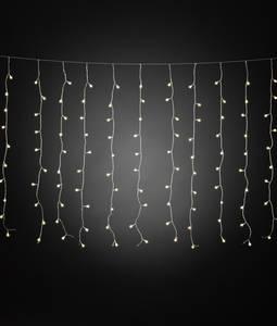 Fényfüggöny Kültérre 24 V 400 LED Melegfehér (H x Sz x Ma) 15.07 m x 507 cm x 100 cm Konstsmide Konstsmide