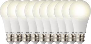 LED izzó, körte forma, 119 mm 230 V E27 9,5 W = 60 W melegfehér A+, Basetech Sygonix