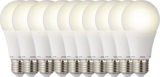 LED izzó, körte forma, 119 mm 230 V E27 9,5 W = 60 W melegfehér A+, sygonix