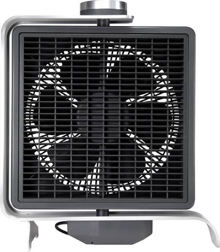 Padló ventilátor 50 W, fekete/ezüst, sygonix FN2110