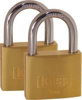 Kasp K12050D2 Függő lakat 50 mm Arany-sárga Kulcsos zár (K12050D2) Kasp