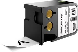 Feliratozó szalag többcélú vinil DYMO XTL Szalagszín: Fehér Szövegszín:Fekete 41 mm DYMO