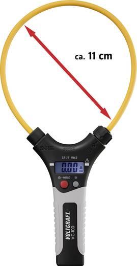 Flexibilis mérőfejű AC váltóáramú digitális lakatfogó, True RMS méréssel VOLTCRAFT VC-10D