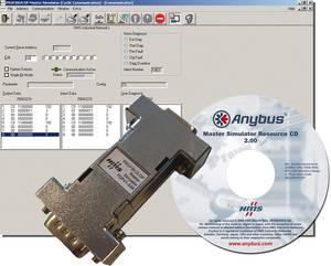 Master szimulátor PC szoftver Profibushoz HMS 17504 Anybus