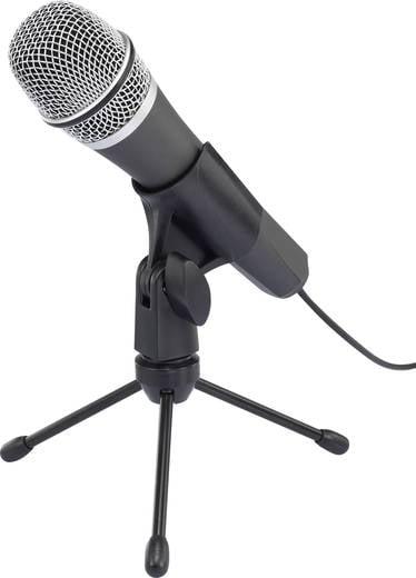 Android/iOS vezetékes mikrofon, renkforce
