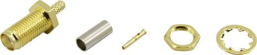 SMA lengő alj, egyenes 50 Ω Tru Components 93038c3