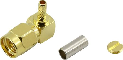 SMA lengő dugó, hajlított 50 Ω Conrad 93038c8