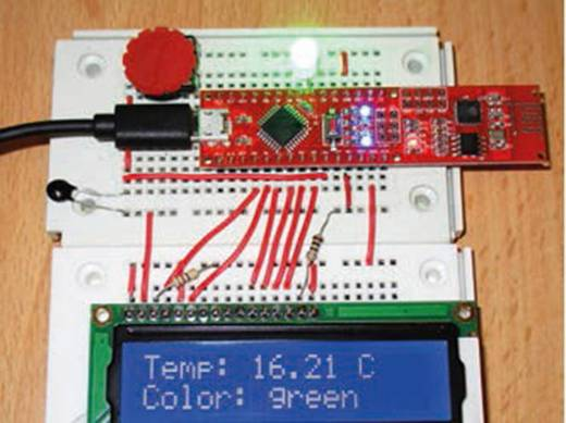 Fejlesztő panel C-Control Franzis