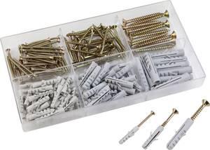 Csavar és tipli készlet, 150 részes, 10572