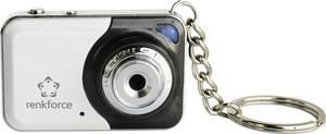 Mini kémkamera mikrofonnal, kulcstartós fényképező kivitelben Renkforce 1387370 Renkforce