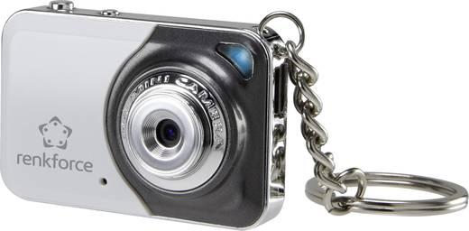 Rejtett kamera, álcázott kém kamera mikrofonnal, kulcstartós fényképező kivitelben Renkforce 1387370