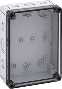 Installációs műszerdoboz 130 x 180 x 63 mm, polikarbonát, fényes szürke, Spelsberg TK PS 1813-6F-TM Spelsberg
