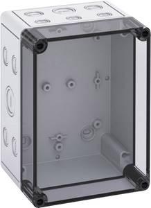 Installációs műszerdoboz 130 x 180 x 111 mm, polikarbonát, fényes szürke, Spelsberg TK PS 1813-11-TM Spelsberg