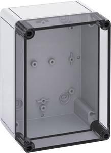 Installációs műszerdoboz, (H x Sz x M) 130 x 180 x 111 mm, fényes szürke polikarbonát, Spelsberg TK PS 1813-11-TO, 1 db Spelsberg