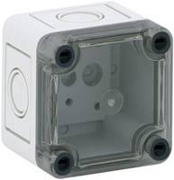 Installációs műszerdoboz 65 x 65 x 57 mm, polikarbonát, fényes szürke, Spelsberg TK PC 77-6-TM Spelsberg