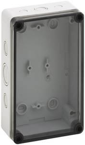 Installációs műszerdoboz 110 x 180 x 63 mm, polikarbonát, fényes szürke, Spelsberg TK PC 1811-6F-TM Spelsberg
