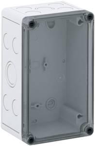 Installációs műszerdoboz 110 x 180 x 90 mm, polikarbonát, fényes szürke, Spelsberg TK PC 1811-9-TM Spelsberg