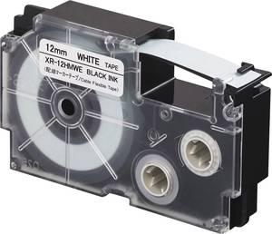 Feliratozó szalag Casio Szalagszín: Fehér Szövegszín:Fekete 12 mm 5.5 m Casio