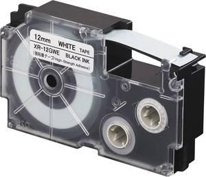 Feliratozó szalag, extra erős tapadás Casio Szalagszín: Fehér Szövegszín:Fekete 12 mm 5.5 m Casio