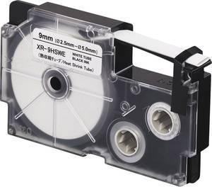 Feliratozó szalag, zsugorcső Casio Szalagszín: Fehér Szövegszín:Fekete 9 mm 2.5 m Casio