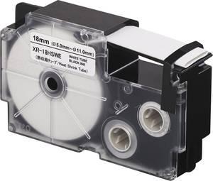 Feliratozó szalag, zsugorcső Casio Szalagszín: Fehér Szövegszín:Fekete 18 mm 2.5 m Casio
