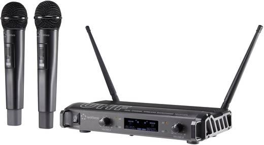 Vezeték nélküli mikrofon készlet, renkforce BM-752U