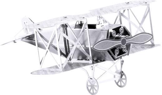 Metal Earth Fokker D-VII repülőgép makett, 3D lézervágott fémmodell építőkészlet 502500