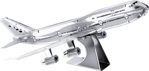 Metal Earth Boing 747 Jumbo Jet repülőgép makett, 3D lézervágott fémmodell építőkészlet 502502