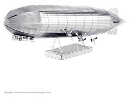 Metal Earth Graf Zeppelin léghajó makett, 3D lézervágott fémmodell építőkészlet 502504