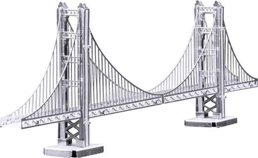 Metal Earth Golden Gate híd, 3D lézervágott fémmodell építőkészlet 502560