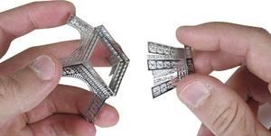 Eiffel torony makett, 3D lézervágott fémmodell építőkészlet, Metal Earth  502554 Metal Earth