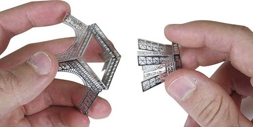 Metal Earth Eiffel torony makett, 3D lézervágott fémmodell építőkészlet 502554